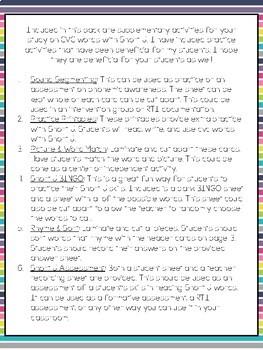 CVC Word Practice {Short U}