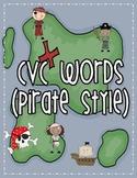 CVC Word Practice (With Pirates)