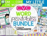 CVC Word Printables Bundle