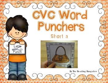 CVC Word Punchers - Short a