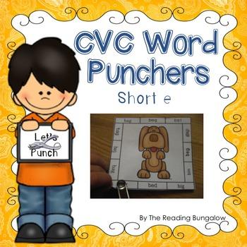 CVC Word Punchers - Short e