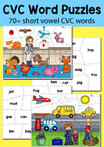 CVC Word Puzzle Pack