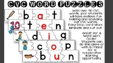 CVC Word Puzzles *Over 90 Words*