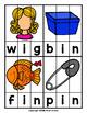 CVC Word Spelling Puzzles: Short I Words