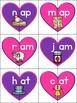 CVC Word Puzzles: Valentines Edition