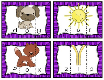 CVC Word Work! Puzzles and Printables