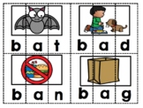CVC  Word Puzzles and  Worksheets