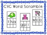 CVC Word Scramble