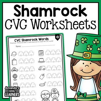 St. Patrick's Day CVC Practice