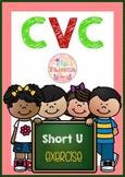 CVC Word Short U Exercise