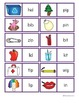 CVC Word (Short i Vowels)/ Picture Match Dominoes Game