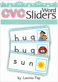 CVC Word Slider Cards