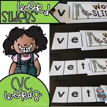 CVC Word Sliders (Blending Practice)