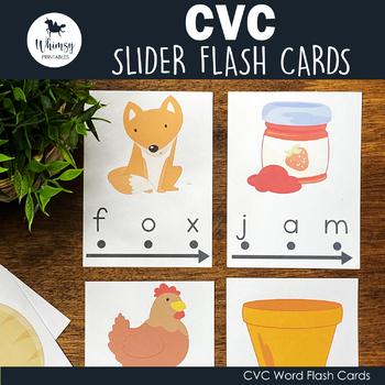 CVC Word Sliders