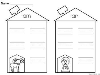 CVC Worksheets-CVC Activity (Word Sort)