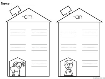 CVC Worksheets-CVC Activities (Short Vowel Worksheets)