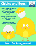 Short E Word Families (Chicks)
