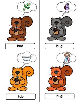 Short U Word Families (Nuts)