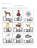 CVC Word Spelling