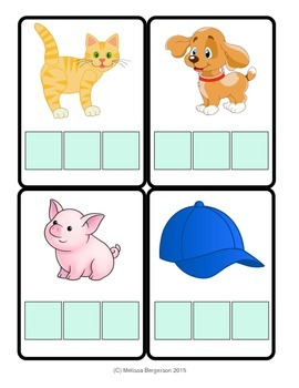 CVC Word Spelling Cards