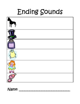 CVC Word Spelling & Ending Sound Page 3
