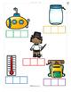 CVC Word Spelling File Folder Game