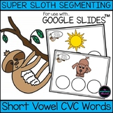 CVC Word Spelling for Google Classroom™ Distance Learning