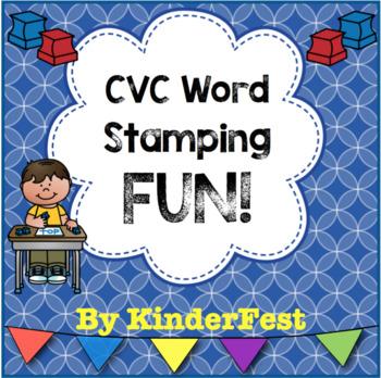 CVC Word Stamping FUN!