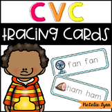 CVC Word Tracing Cards