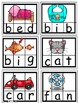 Literacy Center Word Work for CVC and Phonics Fluency