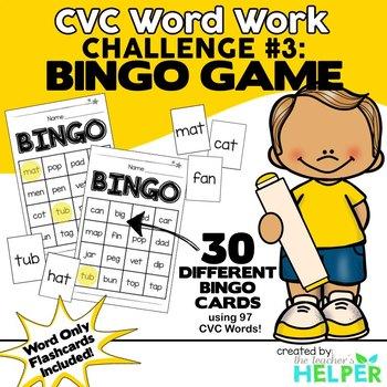 CVC Word Work #3
