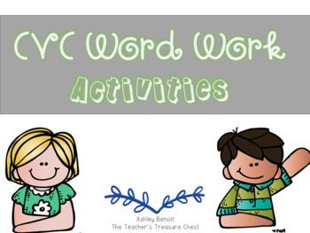 Short Vowels Word Work