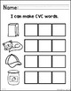 Stamping and Building CVC Words