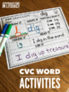 CVC Word Work Activities: Draw It, Write It Switch It