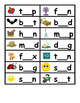 CVC Word Work Center Activity Missing Letters