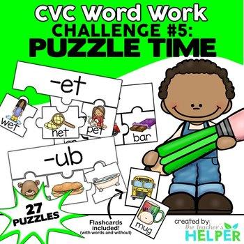 CVC Word Work #5