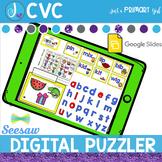 Digital Spelling and Word Work Activities CVC | Seesaw | G