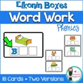 FREEBIE! CVC Word Work. Elkonin Boxes! Phoneme segmentation.