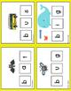 CVC Word Work Learning Activity Mats  3 levels
