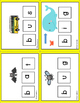 CVC Word Work Learning Activity Mats  3 levels