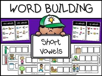 CVC Word Work Mats