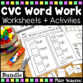CVC Worksheets And Printables