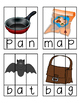 CVC Word Work - Puzzles and Word Ladders - RTI - Centers -