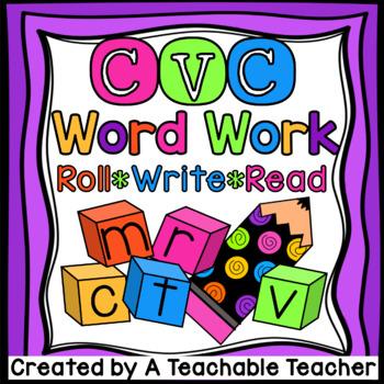 CVC Word Work