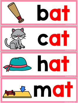 CVC Worksheets and Activities: Short A Word Work