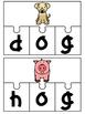 CVC Word Work {Short O Puzzles}