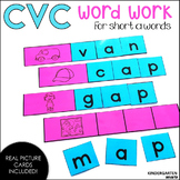 CVC Word Work - Short a Words