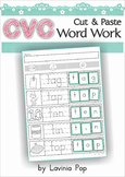 CVC Word Work - cut & paste activity