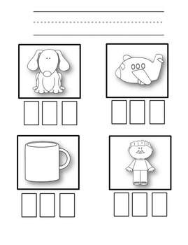 CVC Word Work for Small Groups or Whole Class Instruction