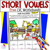 CVC Worksheet Sampler FREE